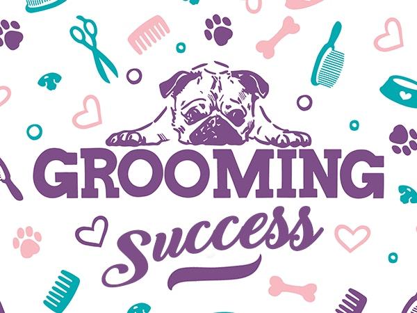 successful pet groomer