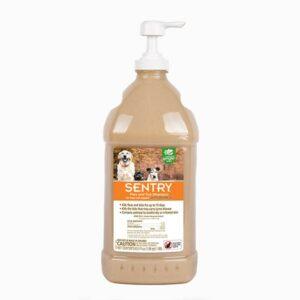 Sentry Flea & Tick Oatmeal Hawaiian Ginger Shampoo for Dogs